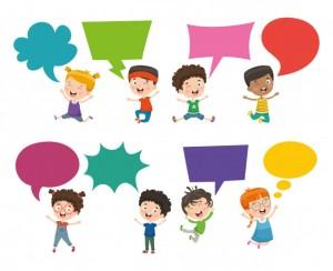 vector-illustration-kids-speech-bubble_29937-2408