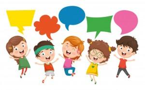 vector-illustration-kids-speech-bubble_29937-2411